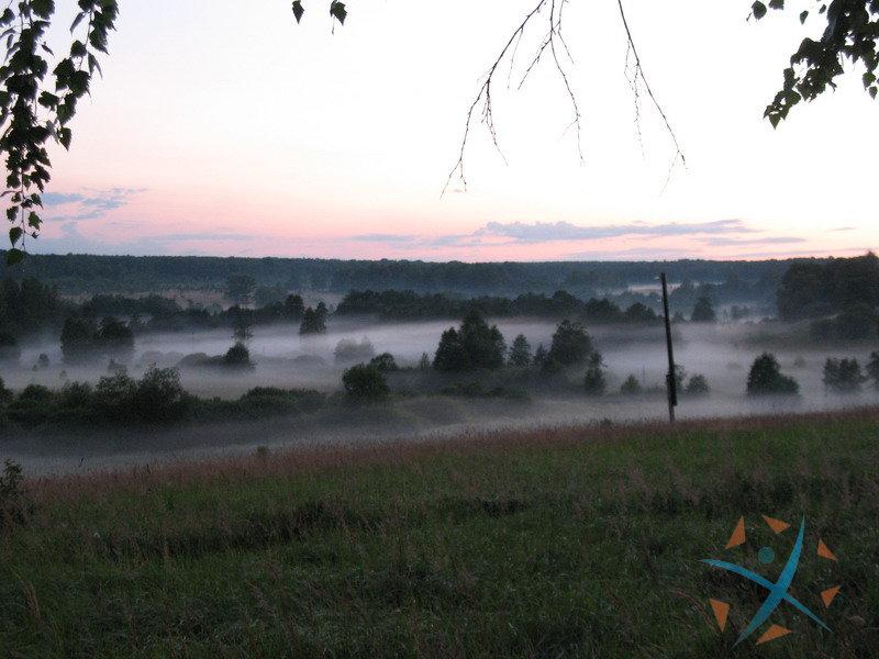 Туман над аномальной зоной Никитское
