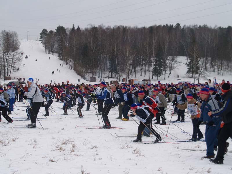Лыжня России в Обнинске
