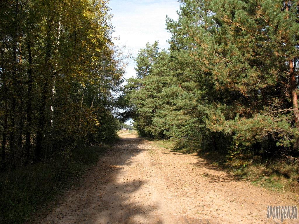 Первые километры Гжатского тракта