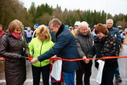 Церемония открытия лыжероллерной трассы, Обнинск, 2015