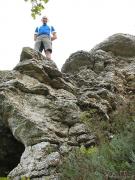 На Воргольских скалах, Липецкая область