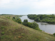Река Сосна, Липецкая область