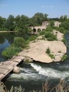 Разрушенная плотина Троекуровской ГЭС, Липецкая область